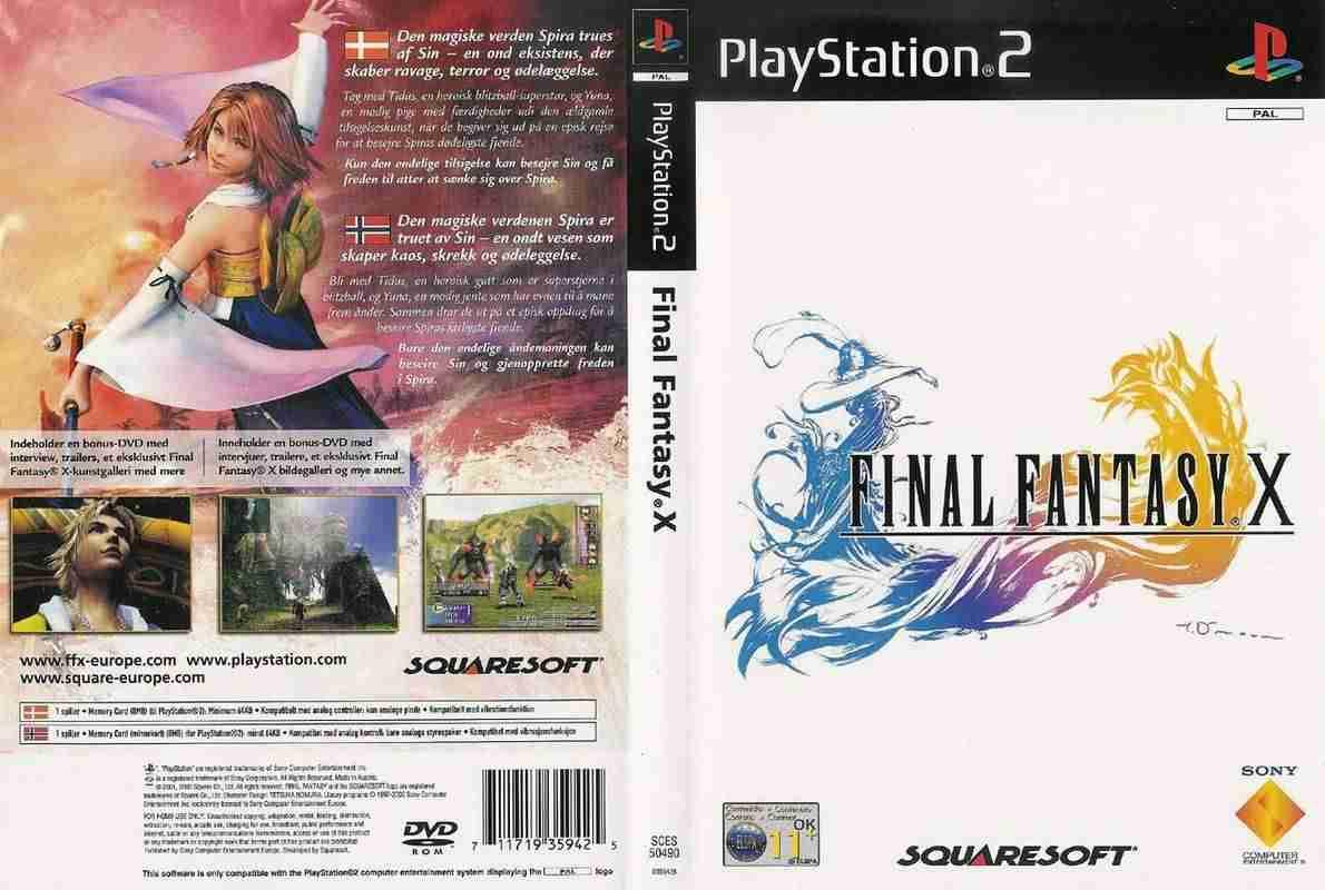 Descargar Final Fantasy X  [BRASIL] por Torrent